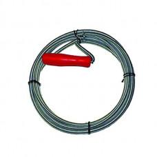 Трос прочистки канализационных труб 10м